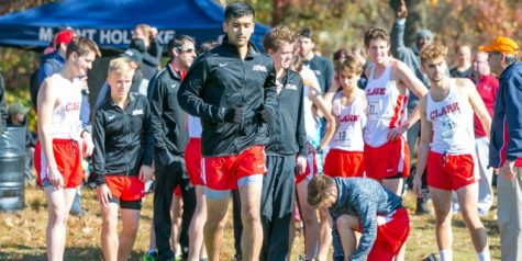 Clark runners from 2019-2020 season; Photo by Jon Endow (NEWMAC Photo)