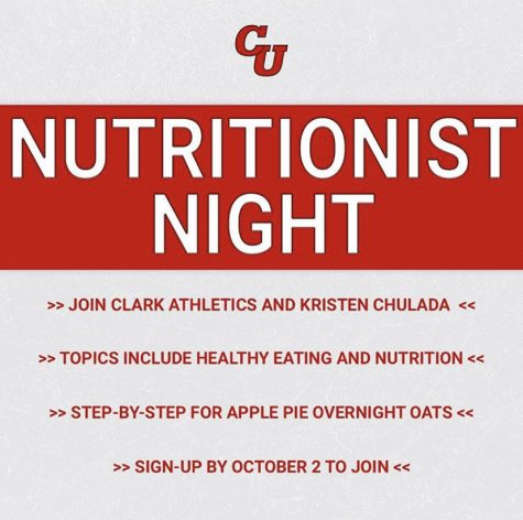Clark University Nutritionist Night 2020: The Secret Behind Apple Pie Overnight Eats